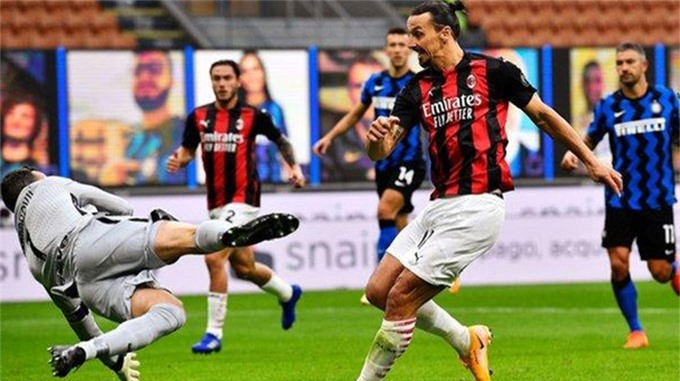 Milan là đội bóng đầu tiên đánh bại Inter ở mùa giải này