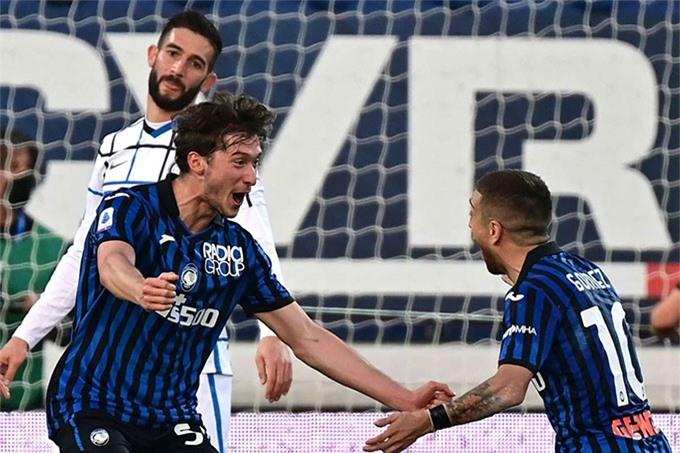 Sau trận hòa Atalanta, Inter đã rơi xuống vị trí thứ 7 trên BXH
