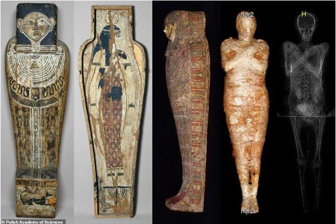 Lần đầu phát hiện xác ướp đôi, đứa bé được ướp ngay trong cơ thể mẹ - Ảnh 1.