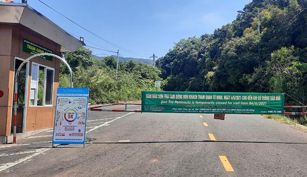 BQl Bán đảo Sơn Trà và các bãi biển Đà Nẵng cũng thông báo tạm dừng hạt động tham quan bán đảo Sơn Trà từ 0h ngày 4/5