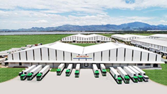 Kho lạnh tại cảng Chu Lai có công suất 2.400 tấn