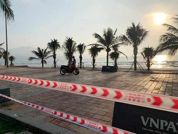 Từ sáng 4/5, Đà nẵng thực hiện cấm biển để phòng, chống dịch Covid-19 cho đến khi có thông báo mới