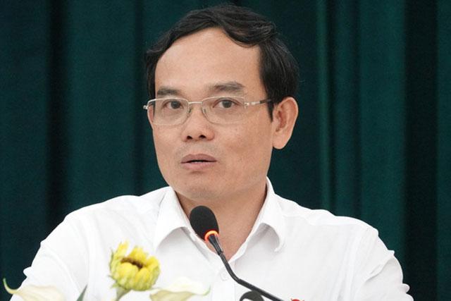 Ông Trần Lưu Quang, tân Bí thư Thành ủy TP Hải Phòng. Ảnh: Công tin tức TP Hải Phòng.