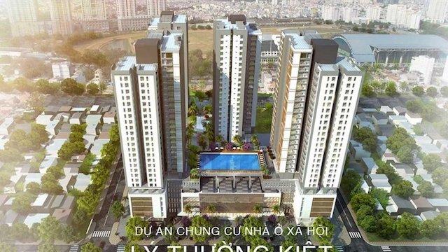 Cơ quan chức năng cảnh báo quảng cáo sai sự thật về dự án Chung cư nhà ở xã hội Lý Thường Kiệt.