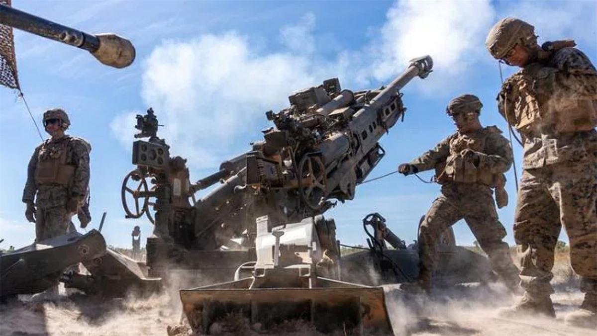 Binh lính Mỹ đang luyện tập tại căn cứ Mount Bundey, một trong bốn căn cứ quân sự được nâng cấp lần này. Nguồn: Sarah Marshall