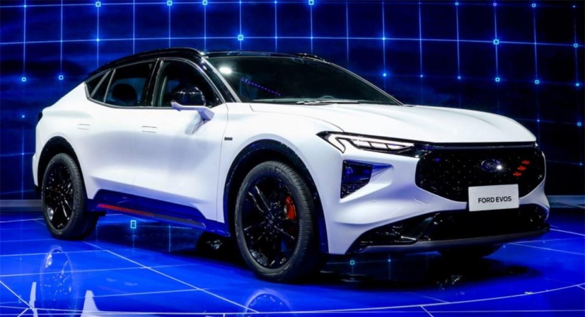 Ngoại thất Ford Evos 2021