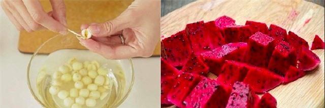 Mùa hè thơm mát với chè hạt sen thanh long đỏ - Ảnh 2.