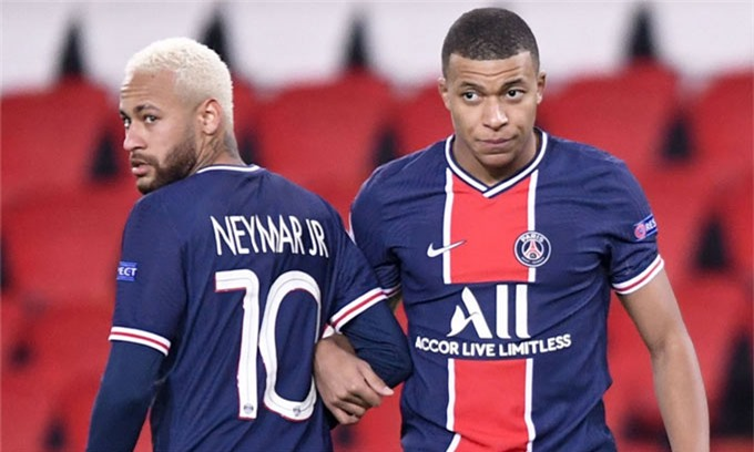 Cả Neymar và Mbappe đều có thể rời PSG sau mùa giải này
