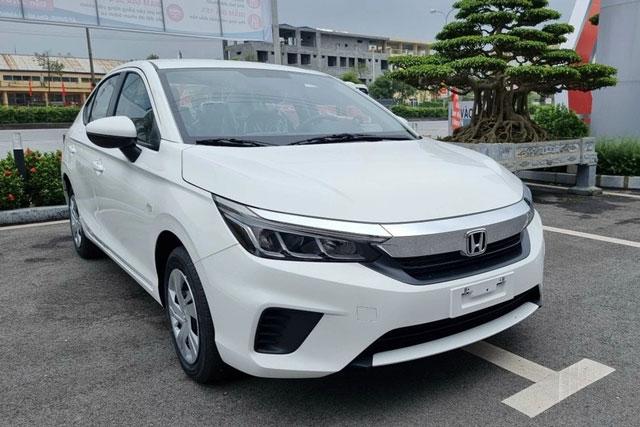 Ảnh chi tiết Honda City phiên bản rẻ nhất, so kè cùng Toyota Vios 1.5E MT