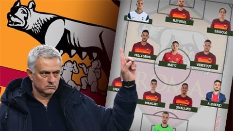 Đội hình tối ưu Roma dưới thời Mourinho: Lamela, Matic nâng tầm 'Bầy sói'