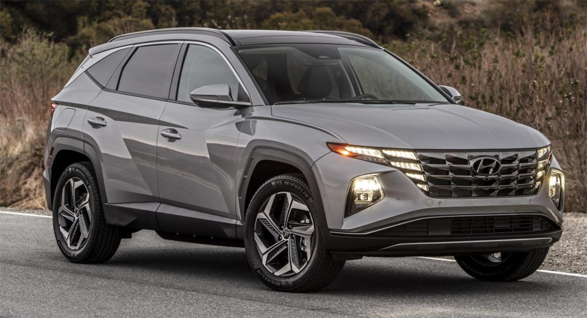 Hyundai Tucson mới.