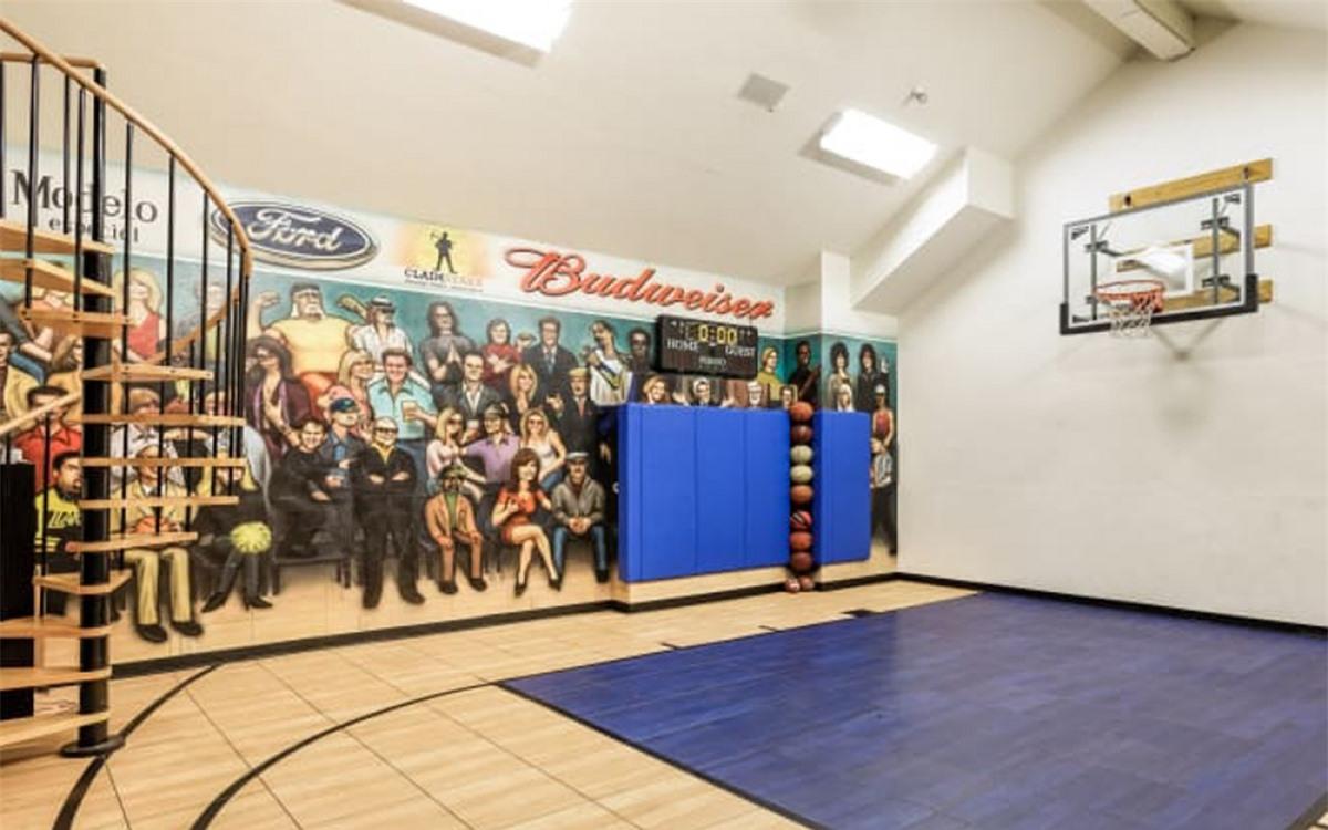 Sân chơi bóng rổ ở trong nhà./.