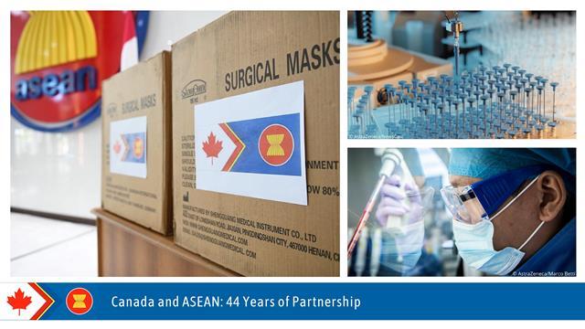 Năm 2021, Canada và ASEAN kỷ niệm 44 năm quan hệ đối tác (Ảnh: ĐSQ Canada).