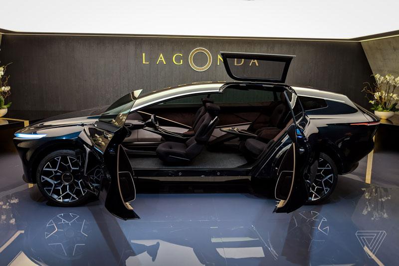 10. Aston Martin Lagonda All-Terrain.