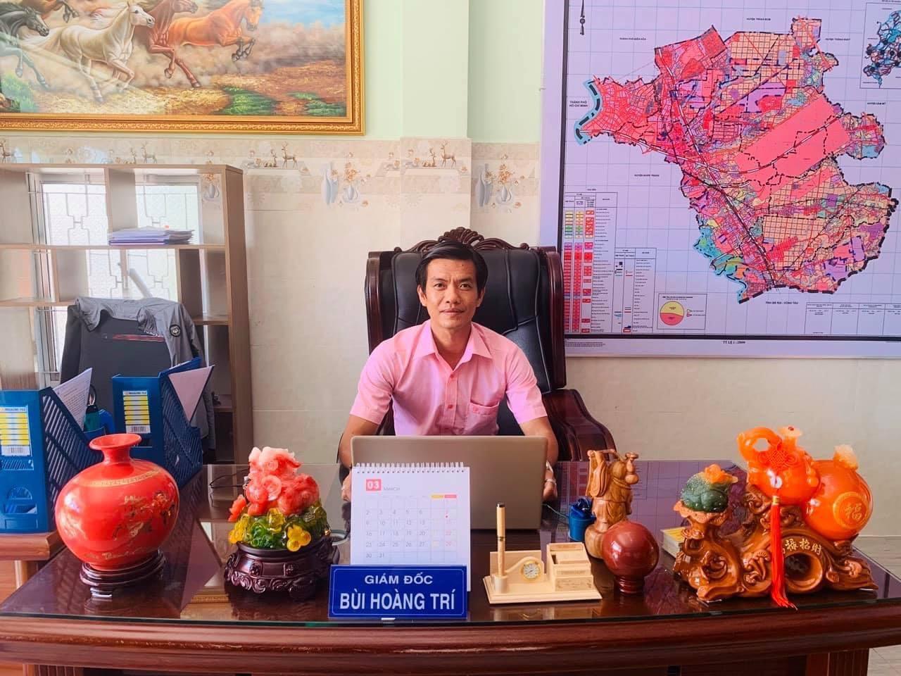 Anh Bùi Hoàng Trí, Founder & CEO Công ty TNHH Dịch vụ BĐS Nam Hoàng.