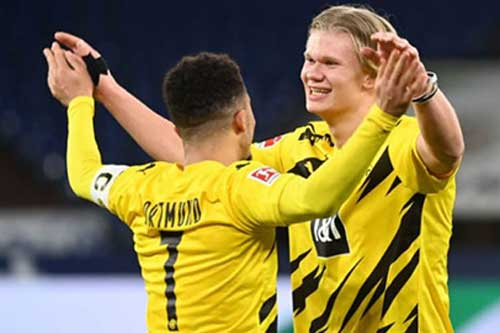Dortmund hét giá Haaland 150 triệu bảng, sẵn sàng bán Sancho