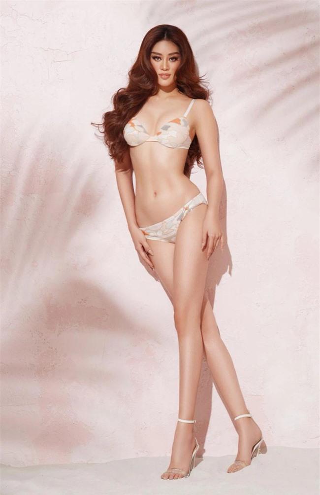 Khánh Vân khoe tỷ lệ thân hình hút mắt trong bộ bikini quyến rũ khi chụp hình cho Miss Universe 2020 - Ảnh 6.
