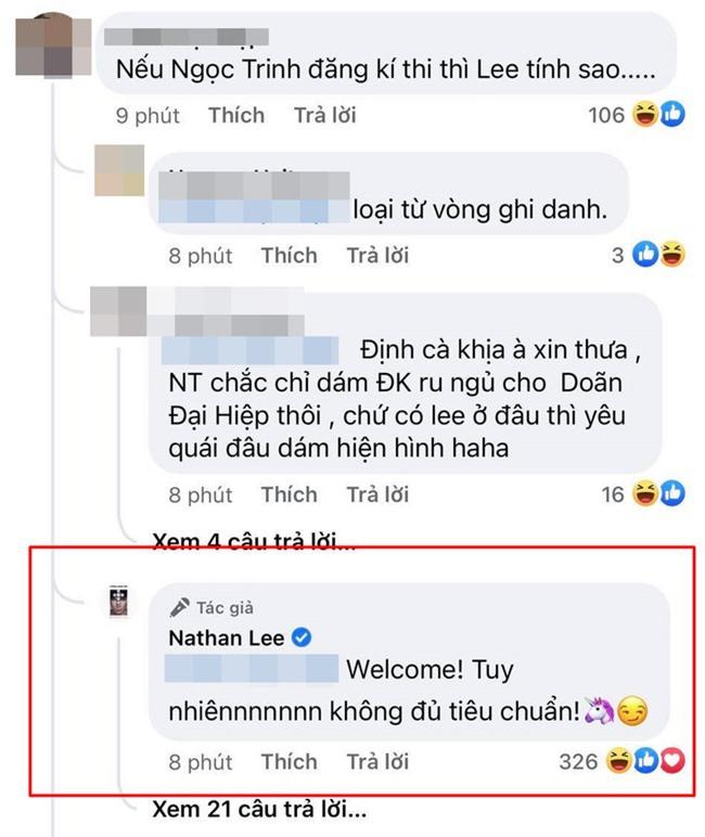 Nathan Lee: Ngọc Trinh không đủ tiêu chuẩn thi hoa hậu - Ảnh 3.