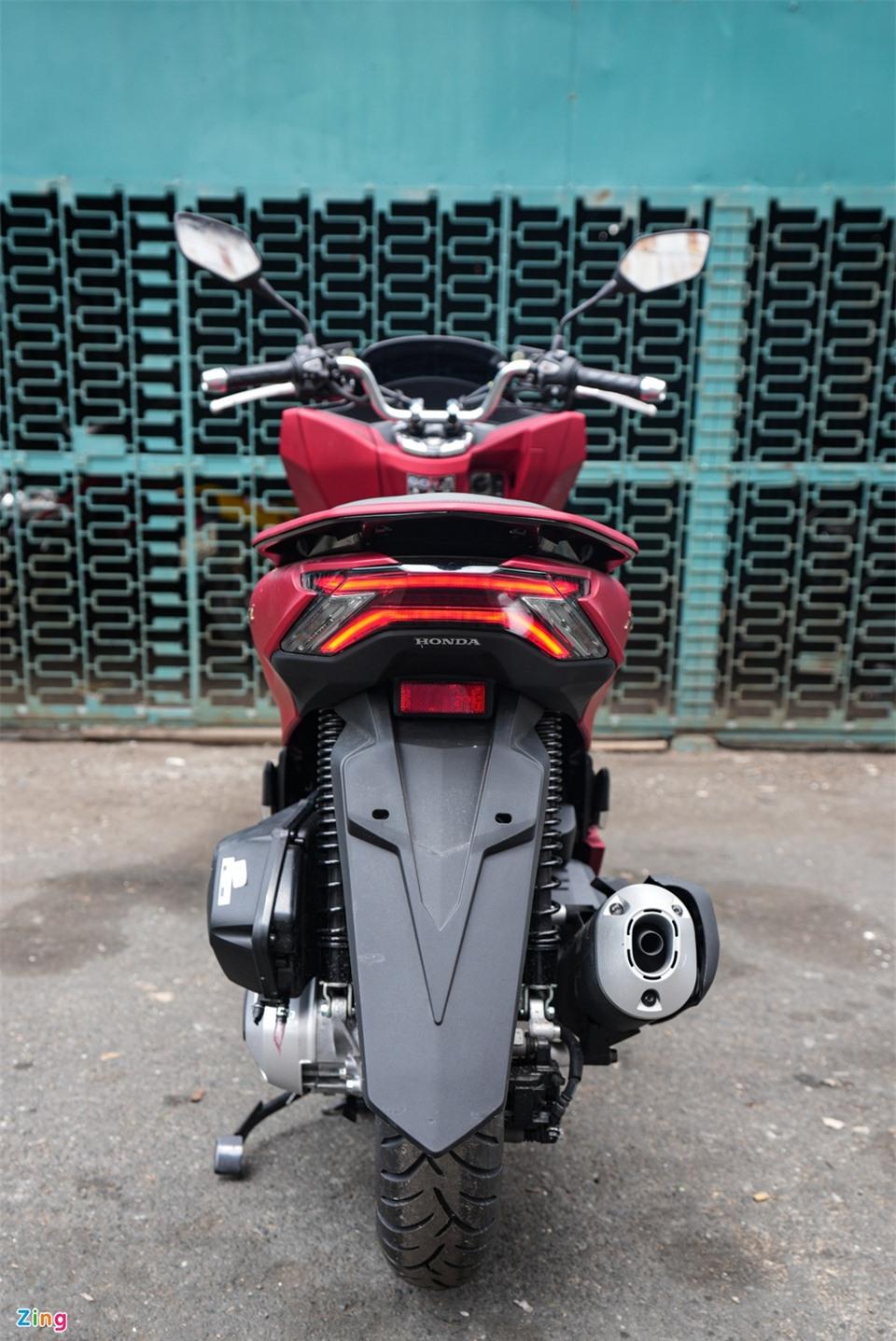 Honda PCX 160 dau tien ve Viet Nam anh 5