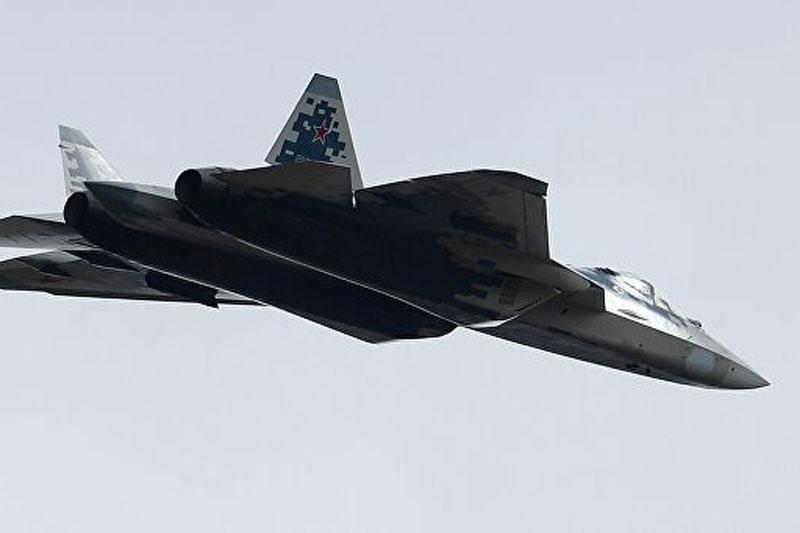 Tiêm kích đa năng Su-57.