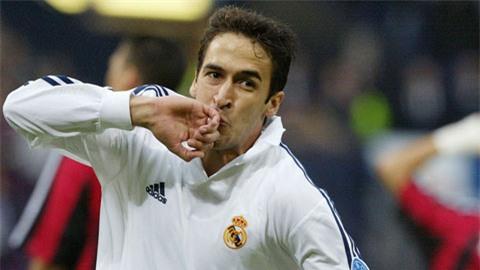 Raul cũng là một tượng đài của Real Madrid như Zidane