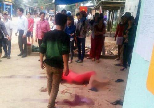 Nghệ An: Nghi án chồng cứa cổ vợ tử vong