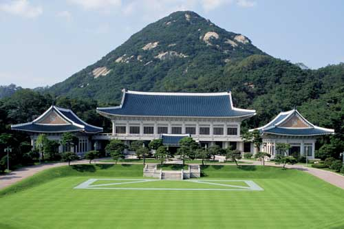 Khám phá kiến trúc đặc biệt của Nhà Xanh, Hàn Quốc
