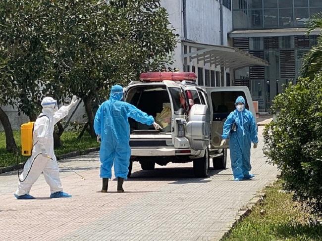 Bệnh nhân đã được đưa về điều trị tại Trung tâm điều trị bệnh nhân Covid-19 của Bệnh viện Trung ương Huế cơ sở 2. (Ảnh: suckhoedoisong.vn)