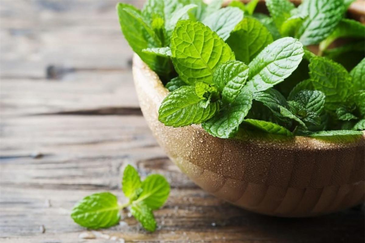 Sử dụng mùi hương bạc hà: Một nghiên cứu cho thấy nếu bạn ngửi mùi hương bạc hà hai giờ mỗi ngày trong vòng 5 ngày, lượng calo bạn tiêu thụ tuần đó sẽ giảm 1800 calo, và bạn cũng sẽ ít cảm thấy thèm ăn hơn. Bạn có thể nhai kẹo cao su bạc hà, uống trà bạc hà hoặc dùng nến hương bạc hà để có được hiệu quả này.
