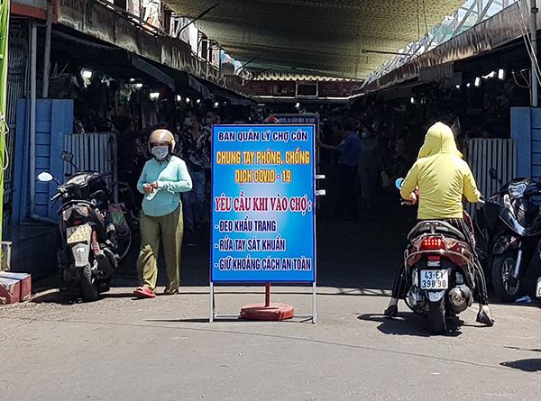 BQL các chợ trên địa bàn Đà Nẵng kêu gọi người dân chung tay phòng, chống dịch COVID-19