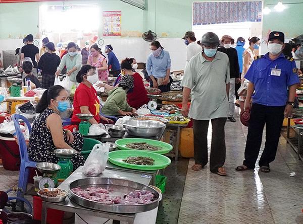 Chợ Đống Đa (phường Thuận Phước, quận Hải Châu, Đà Nẵng) được phép hoạt động trở lại từ 0h00 ngày 9/5