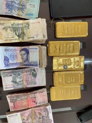 An Giang: Bắt giữ 5kg vàng vận chuyển trái phép vào Việt Nam