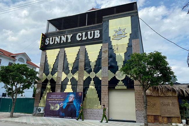 Quán bar-karaoke Sunny - Ảnh: BYT