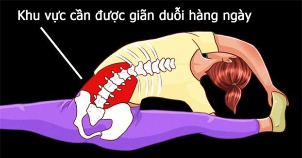 5 bài tập kéo giãn cột sống, giảm đau lưng cho dân văn phòng hiệu quả 4