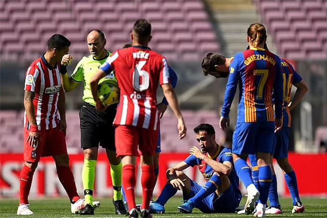 Điểm nhấn Barcelona 0-0 Atletico: Quyền tự quyết về tay Real - xs thứ hai
