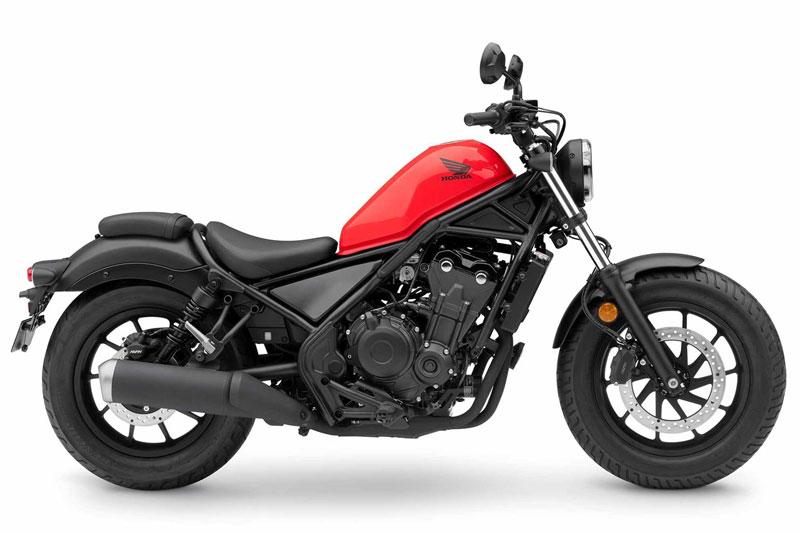 8. Honda CMX500 Rebel.