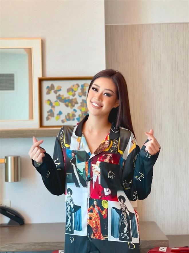 Đi thi Hoa hậu chưa bao giờ khó khăn thế này: Khánh Vân lộ vết bầm tím và gặp liên hoàn trục trặc, đọc tin nhắn gửi ekip mà xót xa - Ảnh 5.
