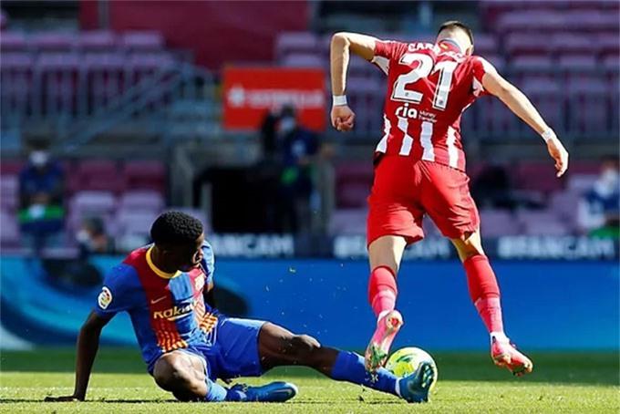 Barca so tài cùng Atletico với tuyến giữa rất trẻ