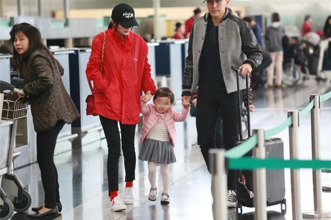 Tiểu Nhu Mễ đã từng có một khoảng thời gian vui vẻ thế này khi có bố mẹ ở bên.