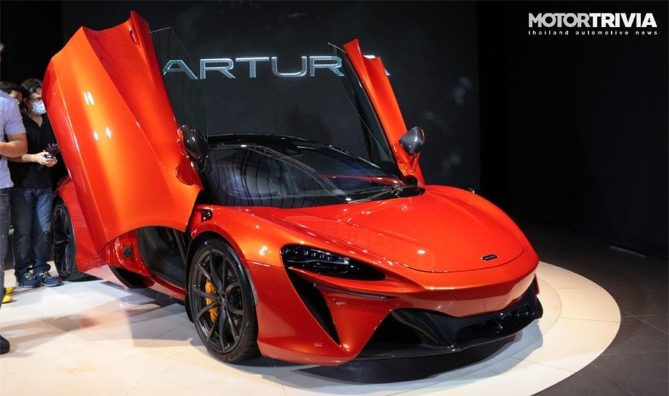 McLaren Artura ra mat tai Thai Lan anh 13