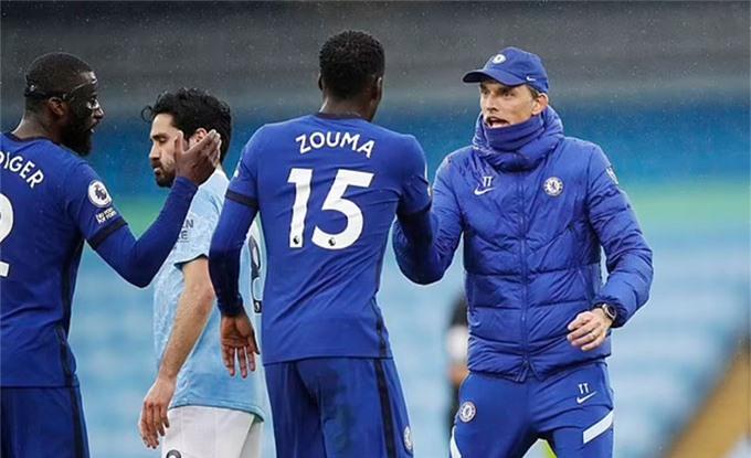 HLV Tuchel đã 2 lần giúp Chelsea đánh bại Man City