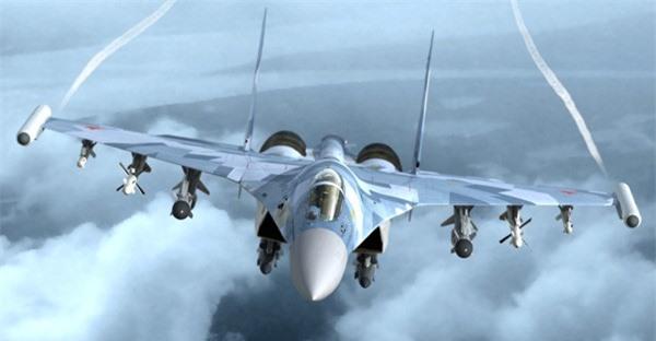 'Vua tác chiến' Su-35 của Nga vượt trội 'chim ăn thịt' F-22 ảnh 5