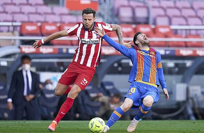 Chia điểm ở Nou Camp, Barca và Atletico trao cơ hội vô địch cho Real