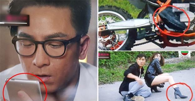 'Rổ sạn' cẩu thả khó đỡ trong phim TVB khiến khán giả khó chịu