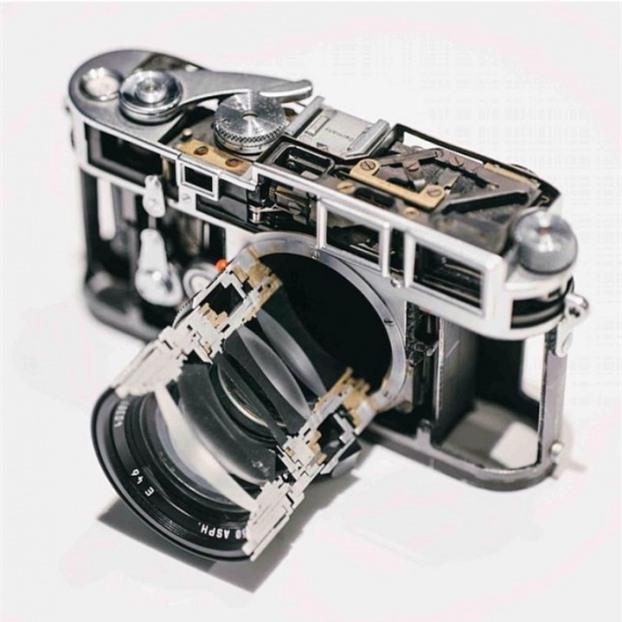 Mặt cắt của ống kính máy ảnh