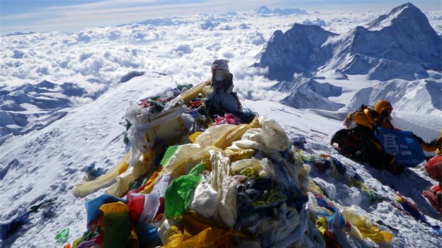 Đỉnh Everest không như những gì bạn tưởng tượng