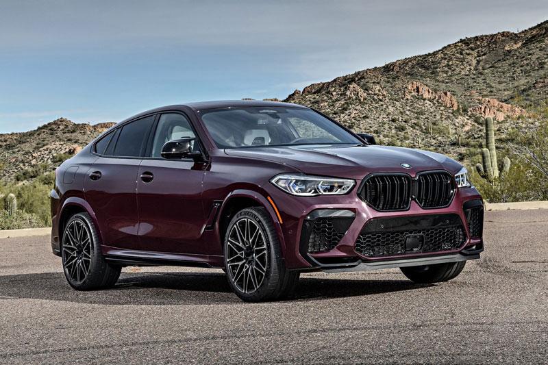 =6. BMW X6 M Competition (công suất tối đa: 617 mã lực, thời gian tăng tốc từ 0-100 km/h: 3,7 giây).