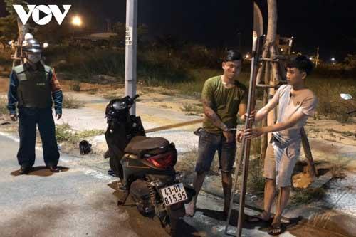 Đà Nẵng: Nổ súng trấn áp nhóm thanh niên dùng hung khí giải quyết mâu thuẫn