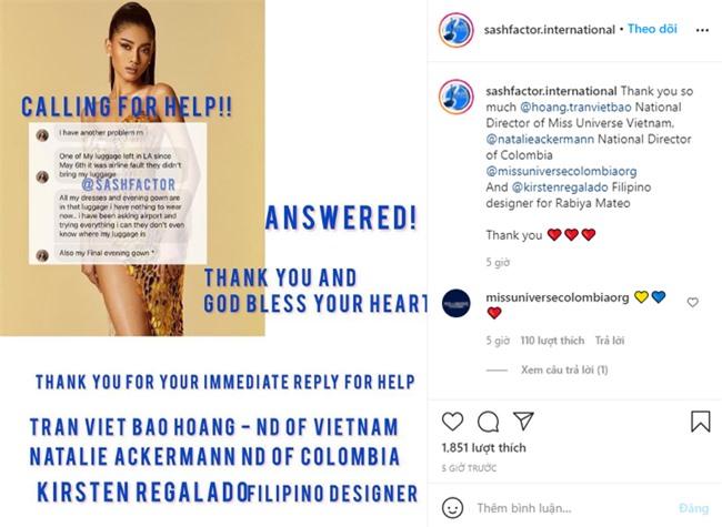 """Khánh Vân được cộng đồng mạng quốc tế khen nức nở vì hành động """"cứu cánh"""" Hoa hậu Myanmar tại Miss Universe 2020 - Ảnh 6."""