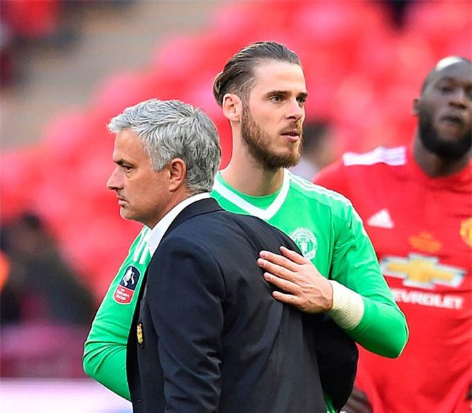 Mourinho có giúp Roma mua được De Gea?